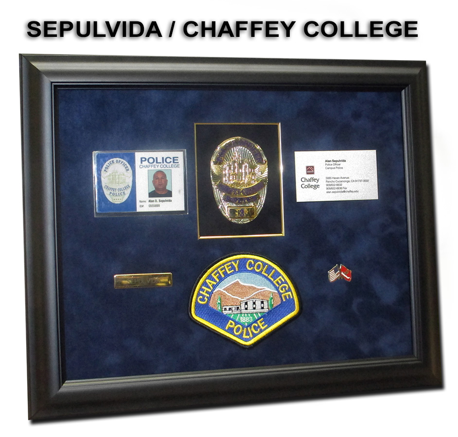 Sepulvida - Chaffey College Presentation from Badge Frame