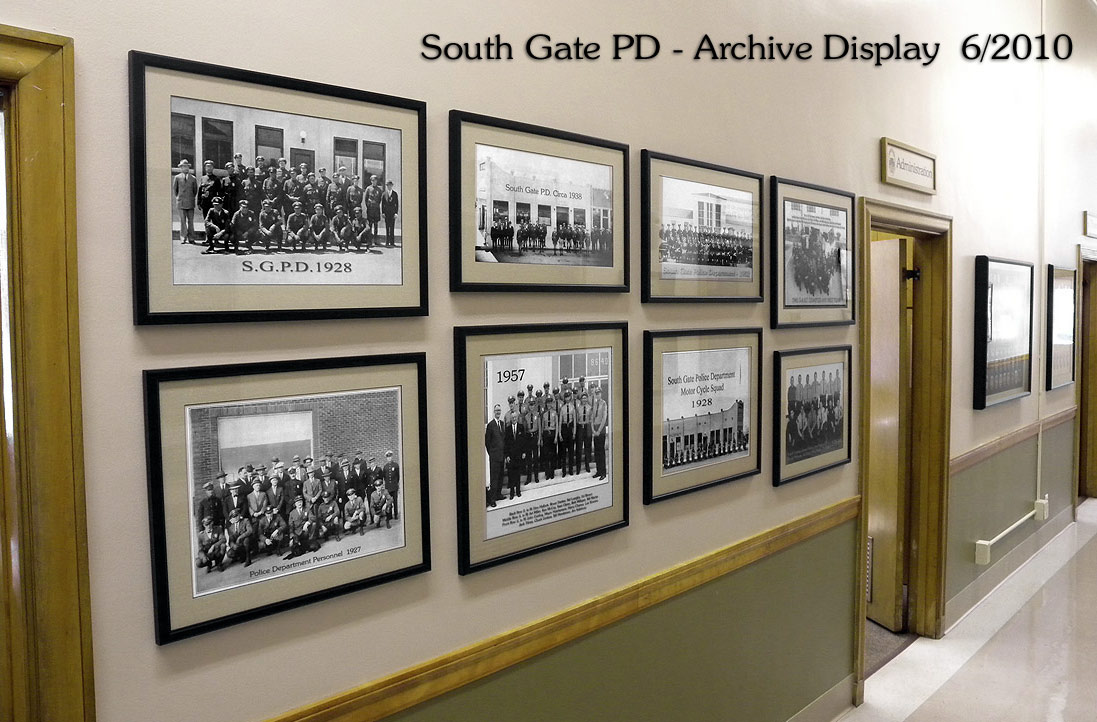 South gate PD Archive             Photo Display