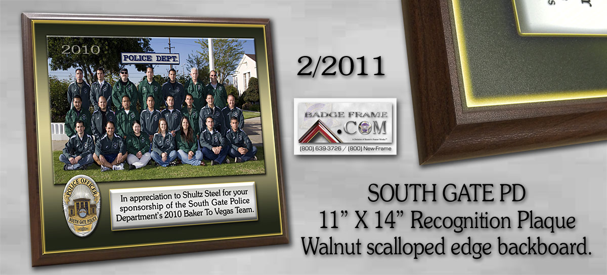 South Gate PD - Walnut Backboard - Recognition