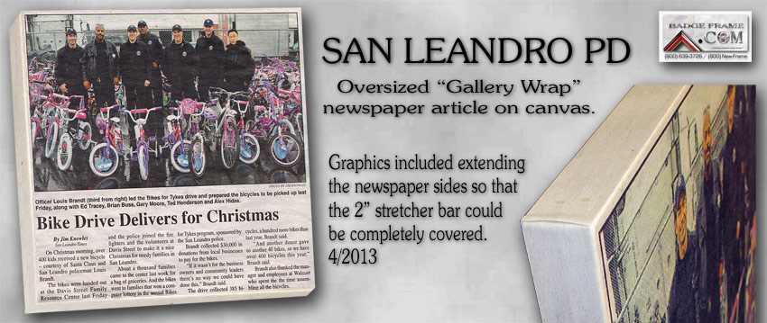 San Leandro - Gallery Wrap