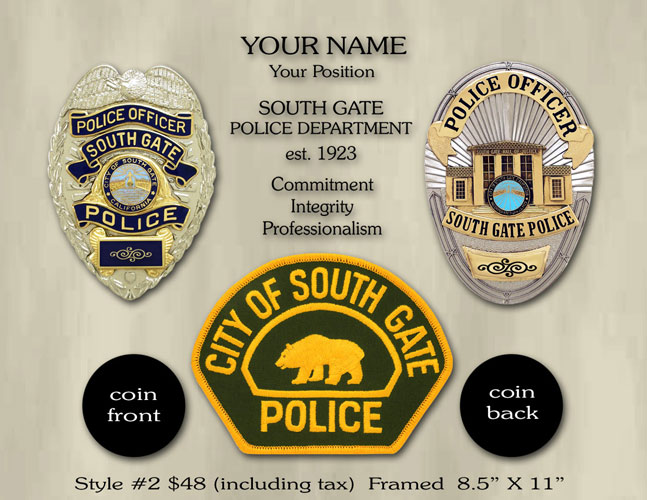 South Gate Coin Option 2