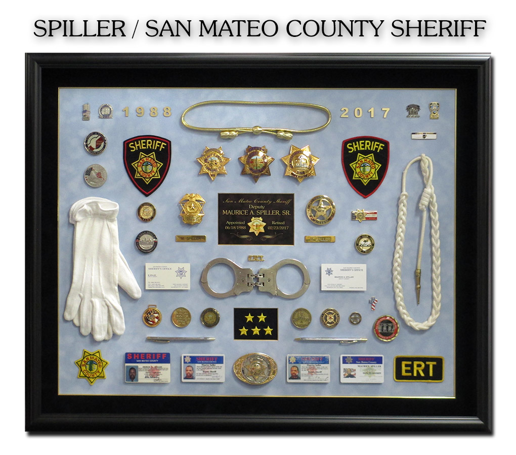San Mateo County Sheriff - Spiller presentation from           Badge Frame