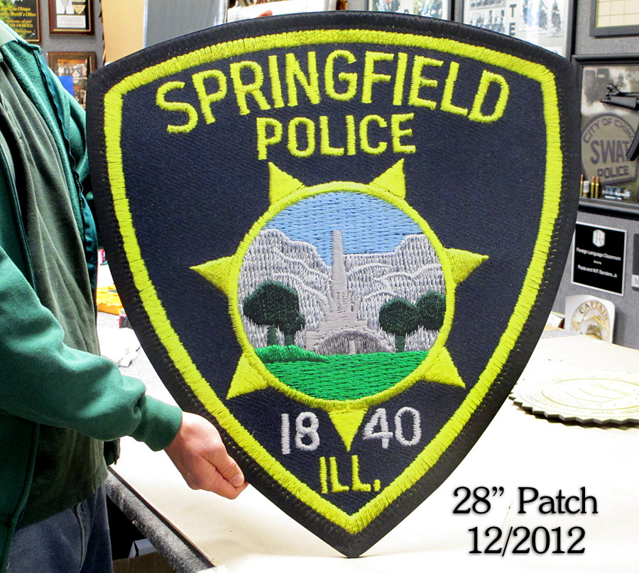 "Springfiled PD 28""           Patch Reproduction"