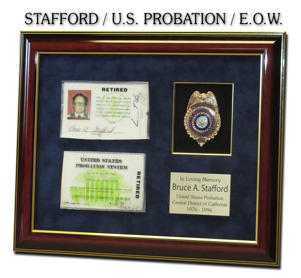 Stafford - U.S. Probation presentation from Badge Frame