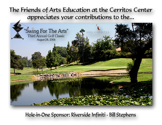 Swing for the Arts - Golf Tournament