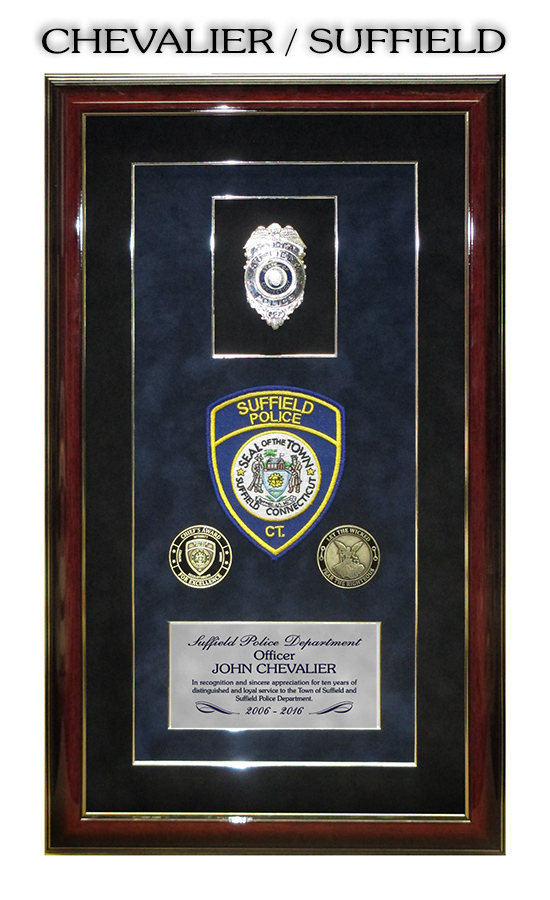 Suffield PD Presentation from Badge Frame