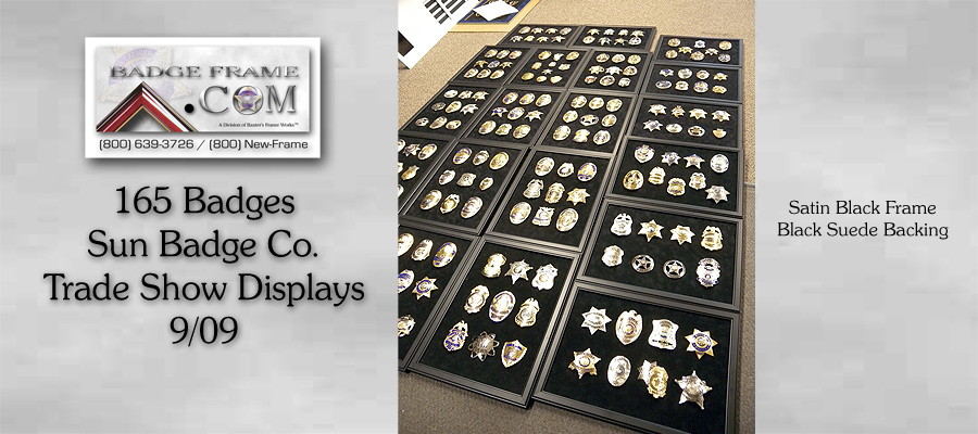 Sun Badge - Trade Show Displays