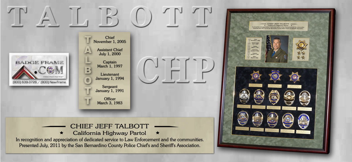 Talbott - County Chief's Presentation