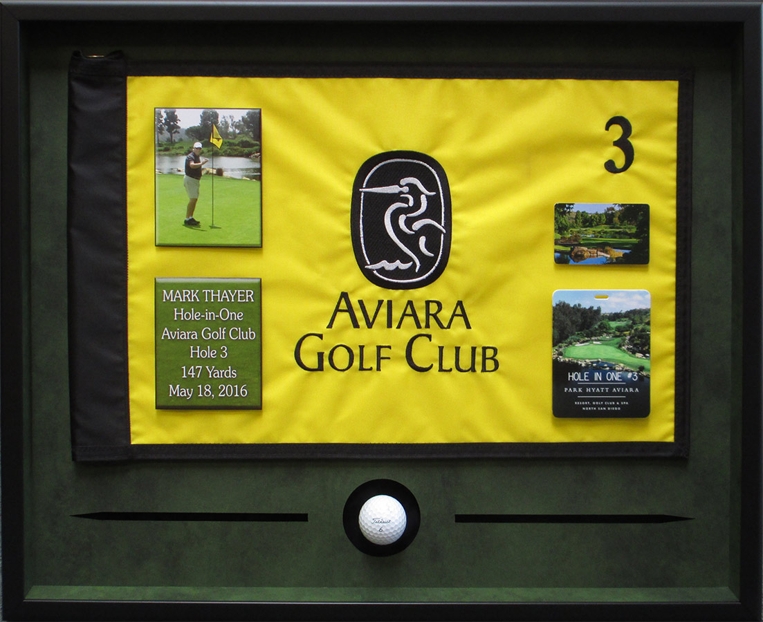 Thayer - Hole in One presentation from Badge Frame