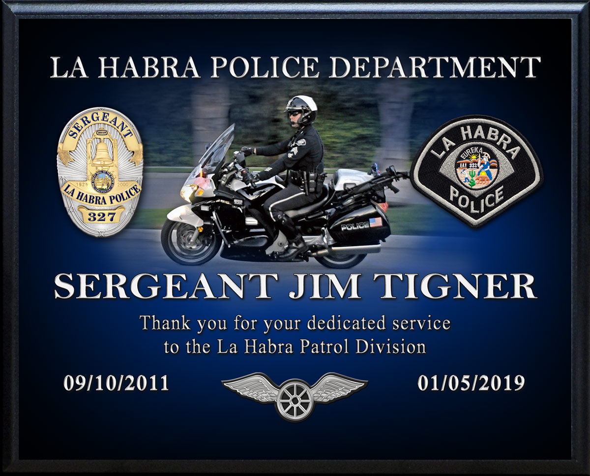 Jim Tigner Recognition