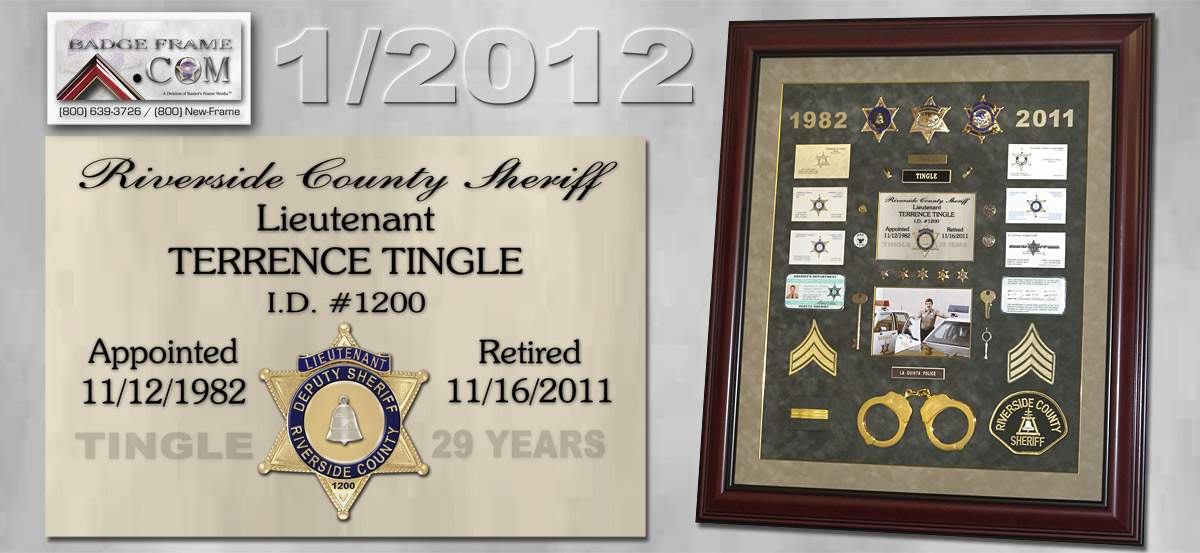 Tingle - Riverside County Sheriff