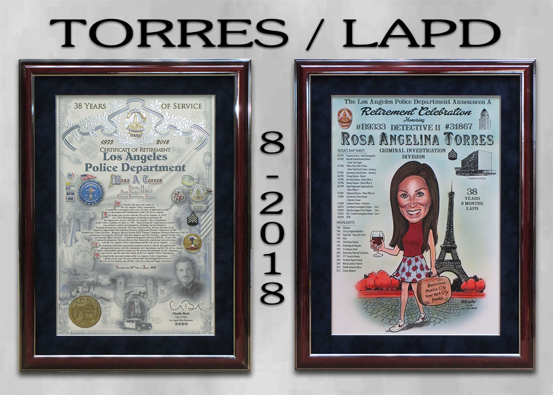 Torres / LAPD / 39 Years