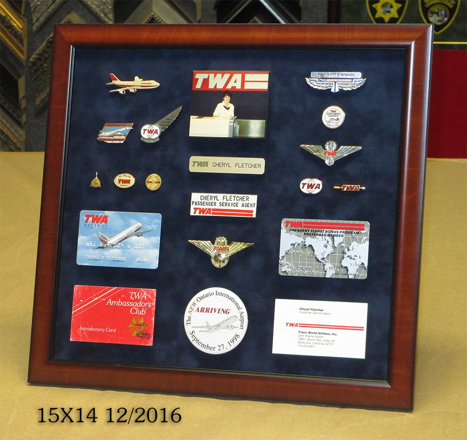 TWA presentation from Badge Frame