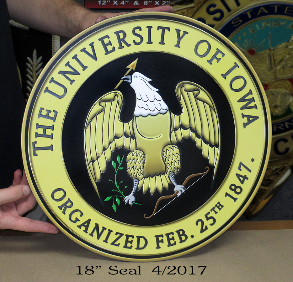 University of Iowa Podium Seal