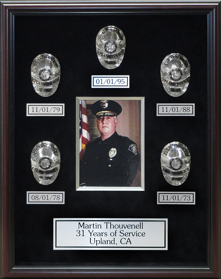 Upland PD Chief Thouvenell