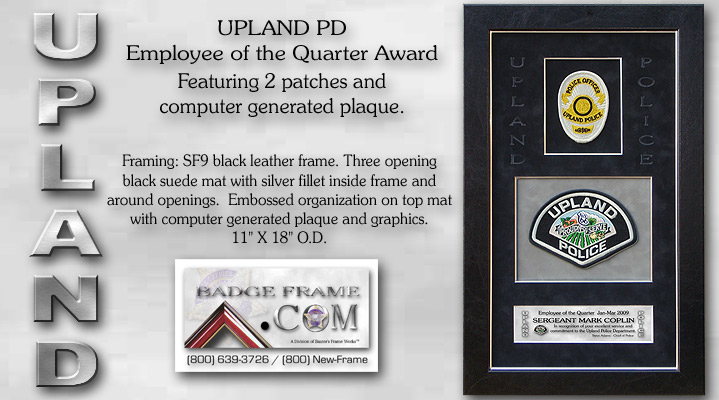 Upland PD / Employee of the Quarter Award