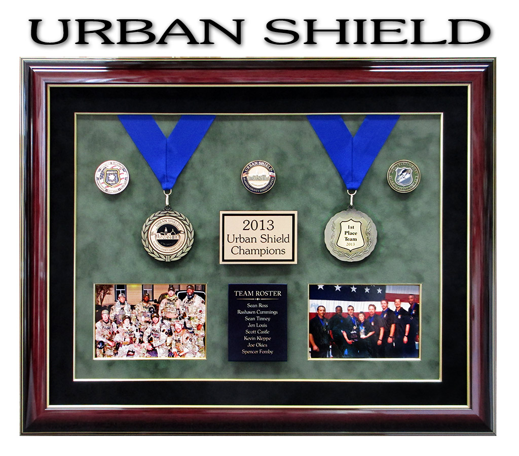 Urban Shield Framing from Badge Frame