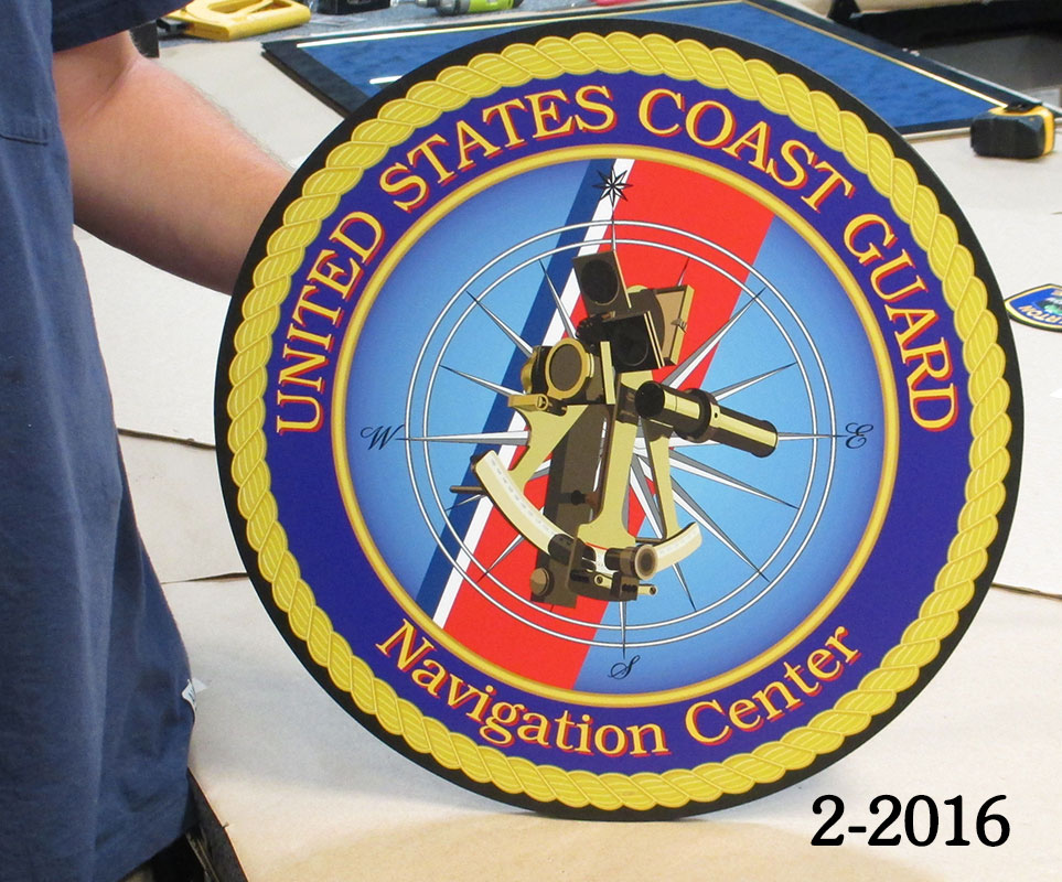 USCG - Navigation Center Emblem