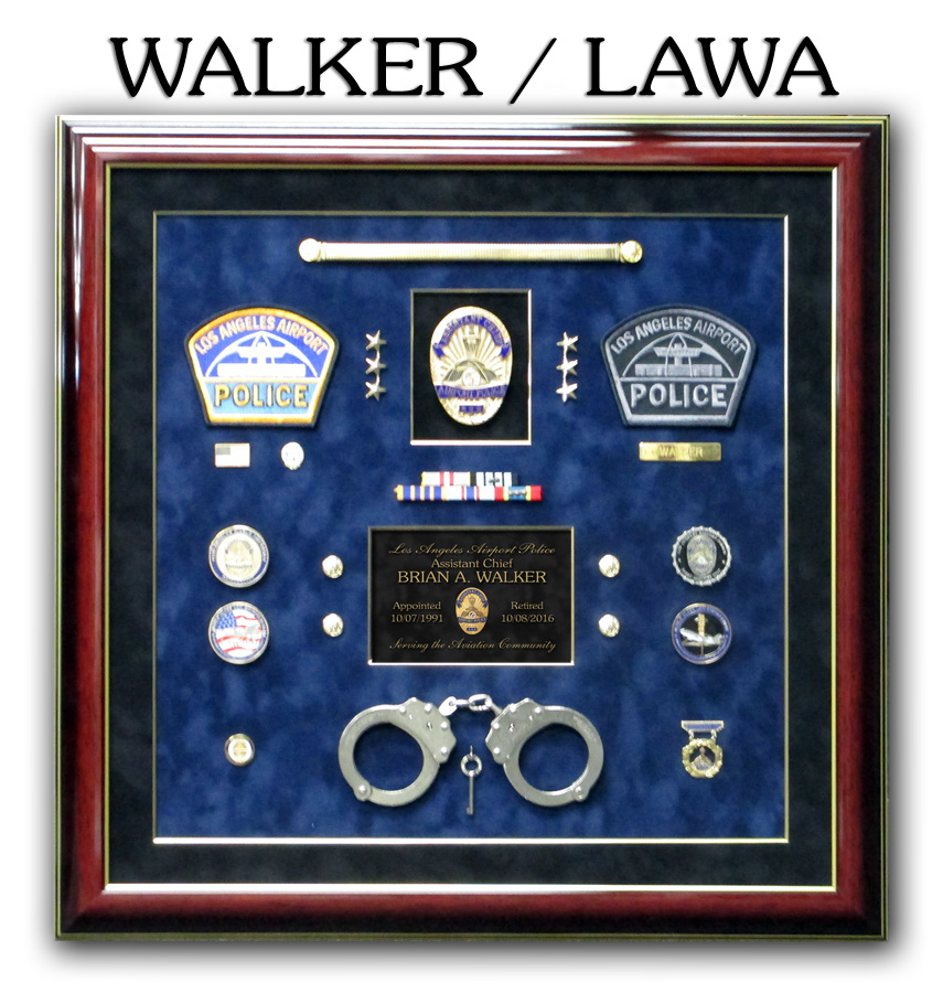 Walker - LAWA Retirement Presentation from Badge Frame