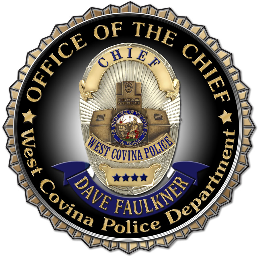 West Covina PD - Chief Seal