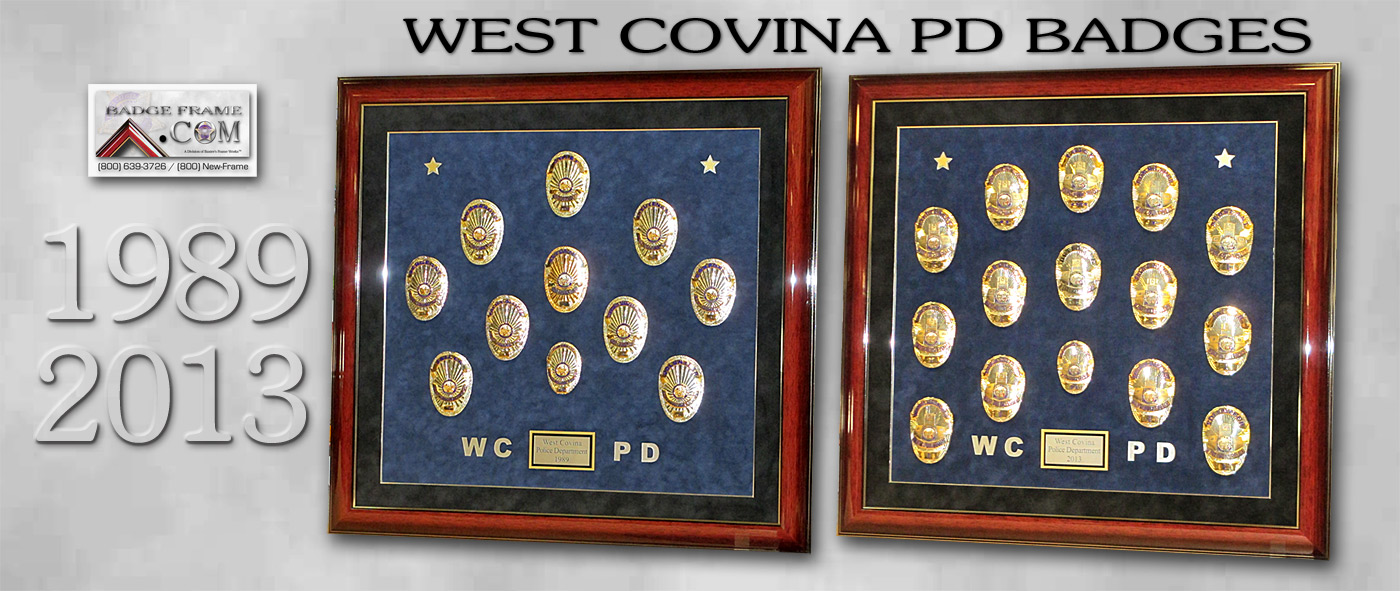 Westm Covina PD           Badges