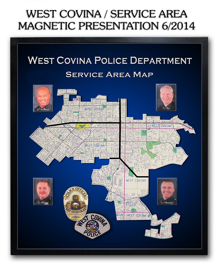 West Covina PD - Service Area