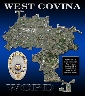 West Covina Boundary View