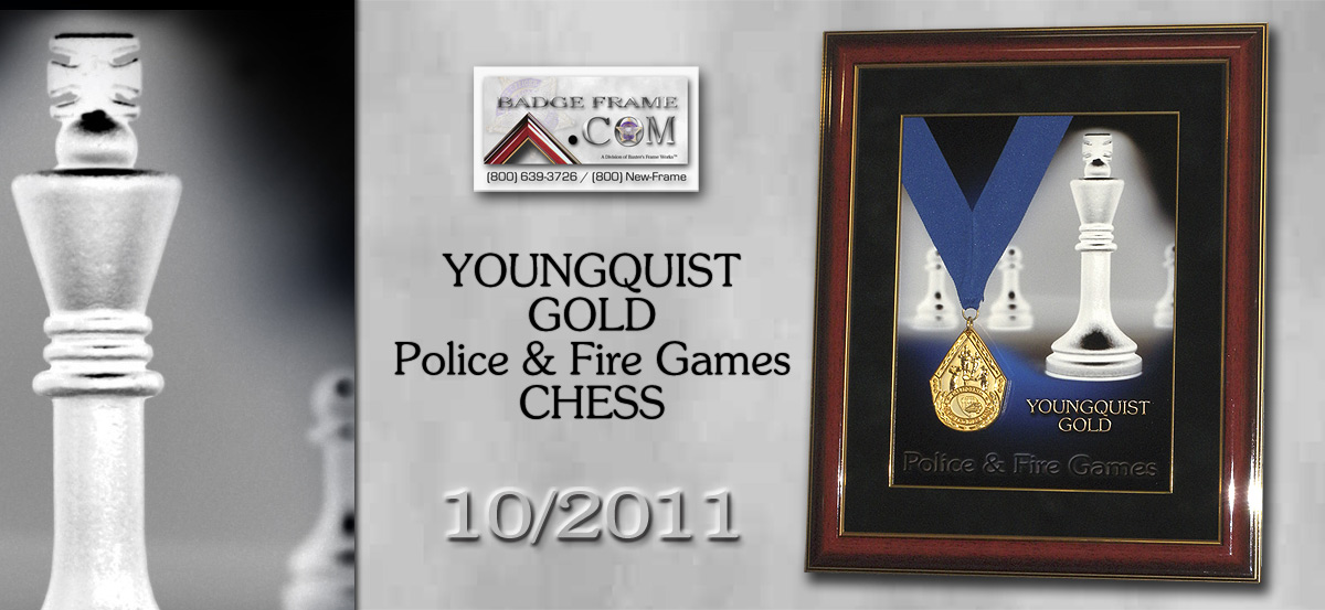 Youngquist - Chess Gold                                       Medal