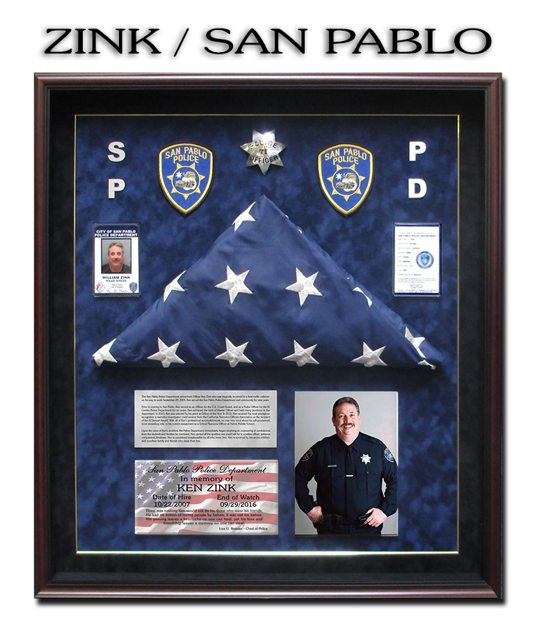 Zink - San Pablo PD - EOW           Presentation from Badge Frame 10/2016